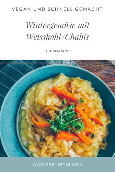 Wintergemüse mit Weisskohl