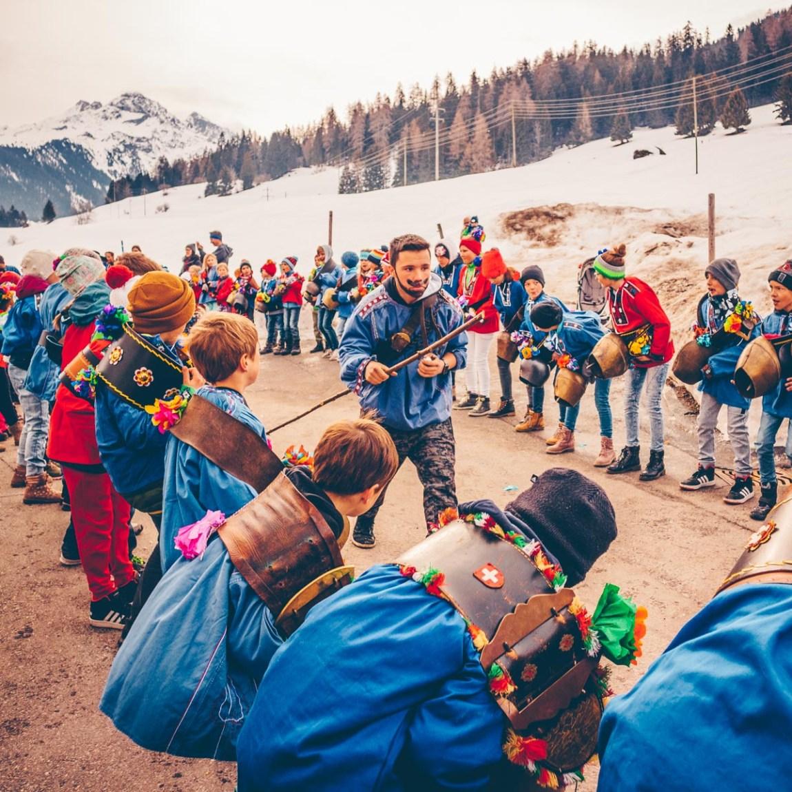 Winter-Familienerlebnisse in Savognin Bivio Albula