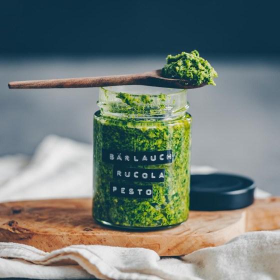 Bärlauch-Ricola Pesto - vegan