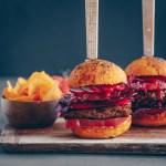 Tomato burger buns