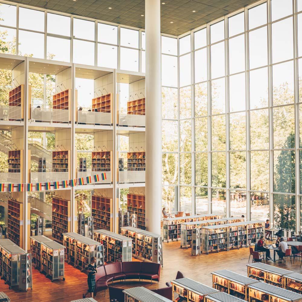 Ein Guide für Malmö – Bibliothek
