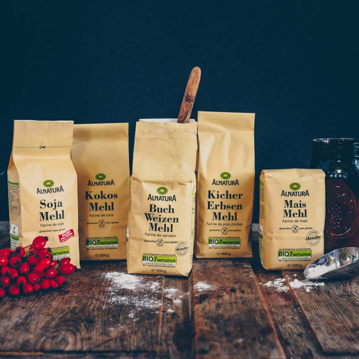Mehl-Alternativen und 2 leckere Rezepte