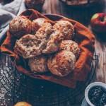 Apfel Müsli Brötchen
