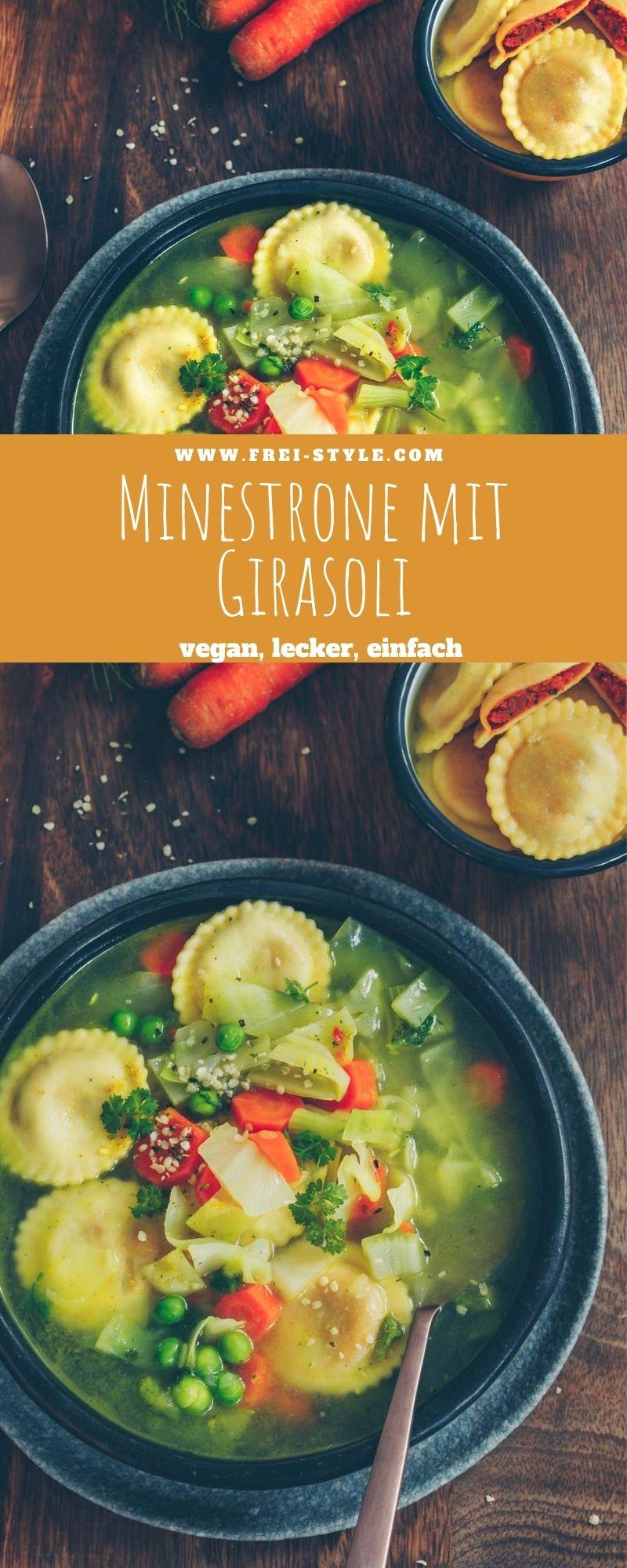 Minestrone mit Girasoli