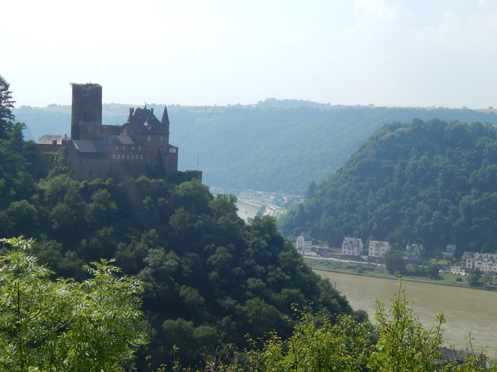 Rheinsteig Loreley Extra-Tour Rundweg