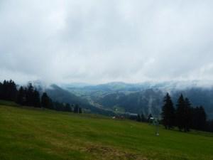 Rundweg auf dem Hündle im Allgäu über Moosalpe, Sennalpe Sonnhalde, Neugreuth Alpe und Buchenegger Wasserfälle