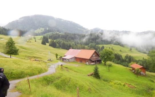 Hündle im Allgäu Rundweg : Moosalpe – Sennalpe Sonnhalde – Neugreuth Alpe – Buchenegger Wasserfälle
