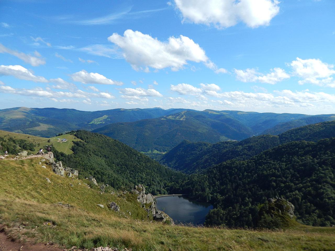 Felsenpfad Col de la Schlucht - Frankenthal - Le Hohneck