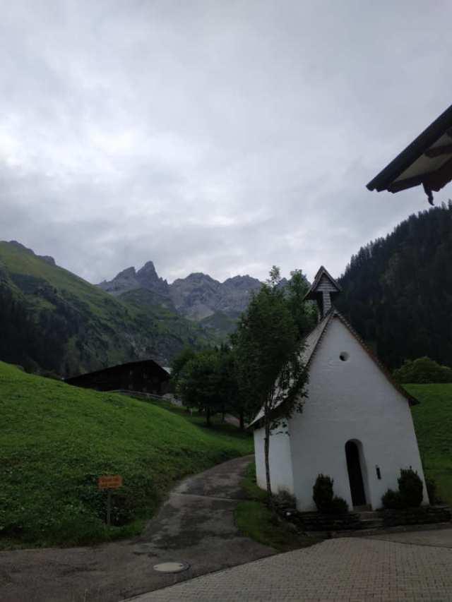 Kapelle Berggasthof Einödsbach