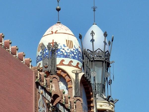 Der mrchenhafte Musikpalast  Palau de la Msica