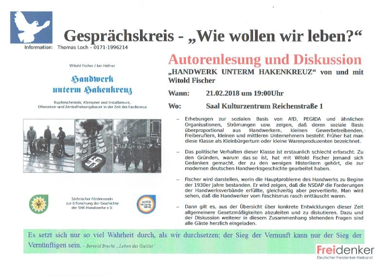 DFV Sachsen-Anhalt, Quedlinburg, 21.02.2018, Lesung