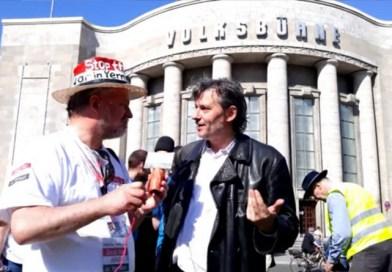 Stimmen vom Ostermarsch 2019 in Berlin – Video-Interview mit Klaus Linder