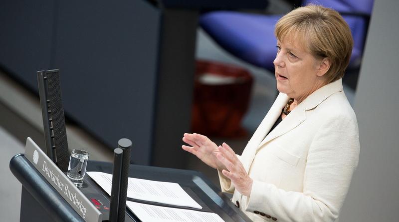 Merkel zittert, Deutschland wankt