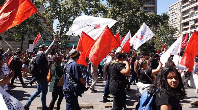 Solidarität mit dem kämpfenden chilenischen Volk