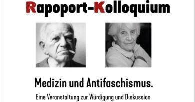 Rapoport-Kolloquium in Hamburg am 13.12.2019