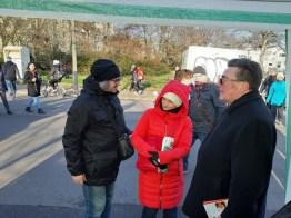 """Klaus Hartmann im Gespräch mit mit dem Künstler-Duo """"Kulturverein Willy"""" aus Österreich"""
