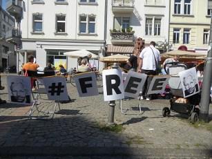 """""""Freiheit für Assange"""""""