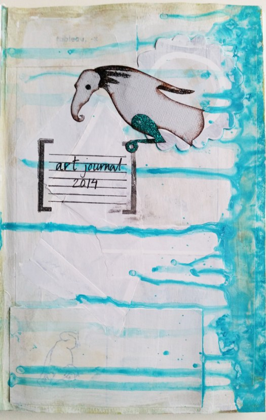 first page in 1st art journal