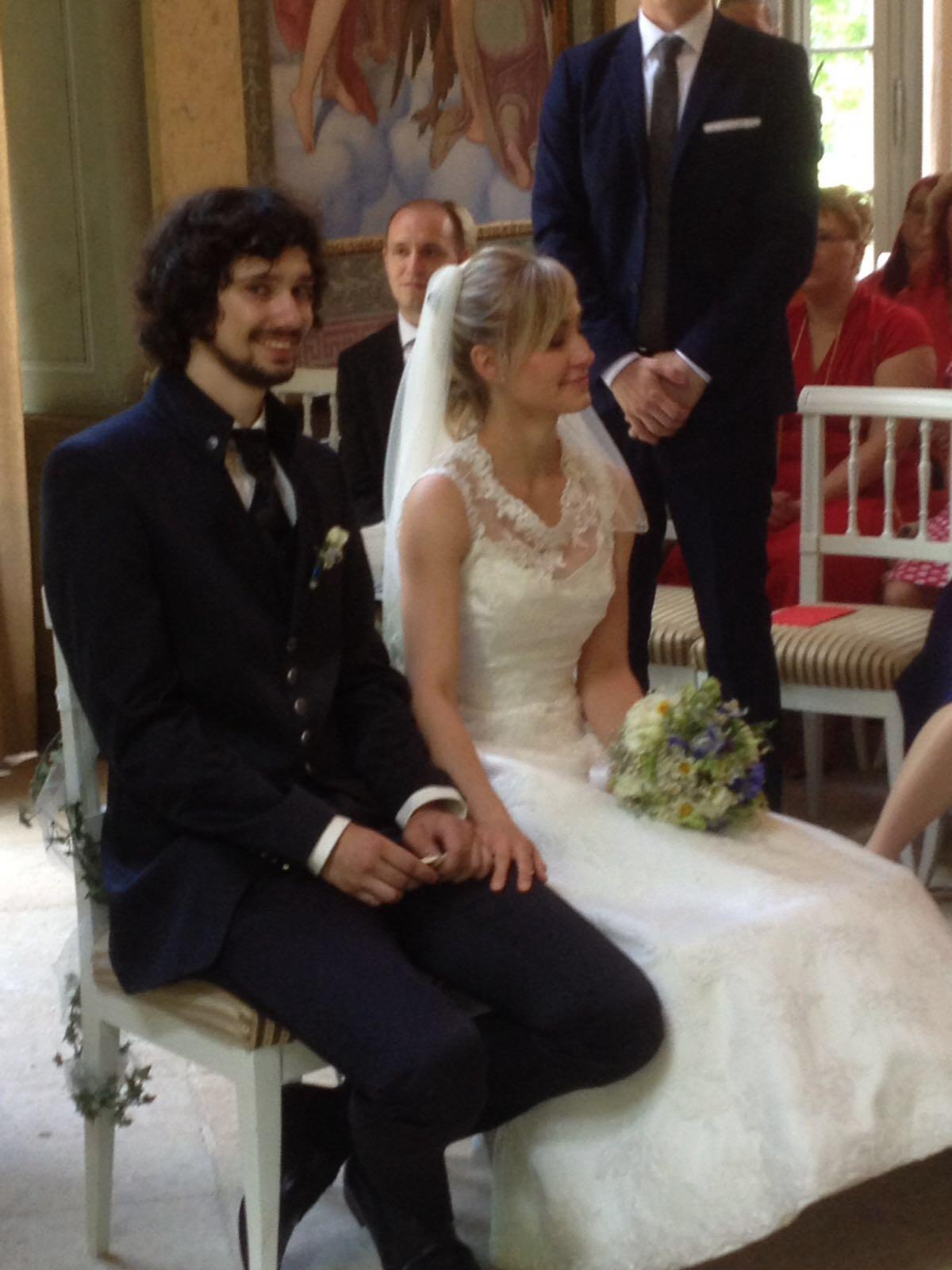Viele hbsche Paare Brute  Hochzeitsredner fr freie