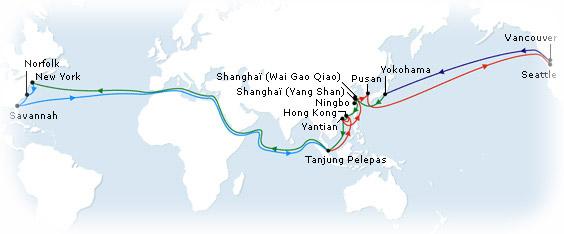 Passenger Freighters Voyage List - Maris Freighter Cruises