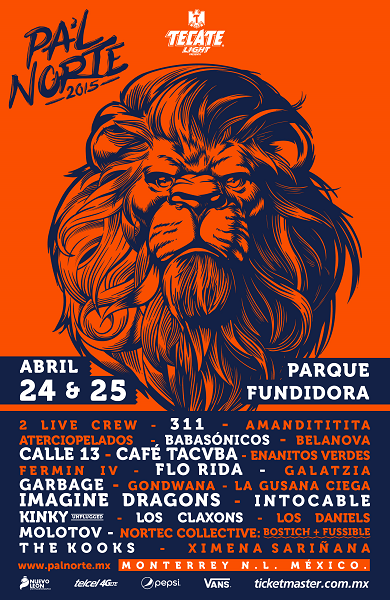 pal norte 2015 cartel oficial