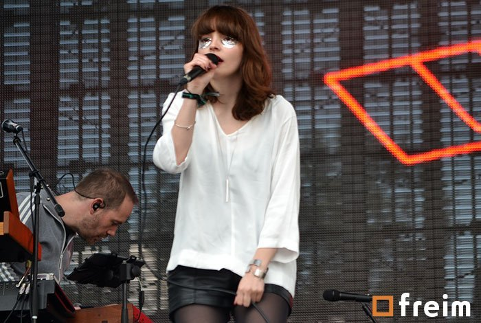 chvrches en corona capital 2014