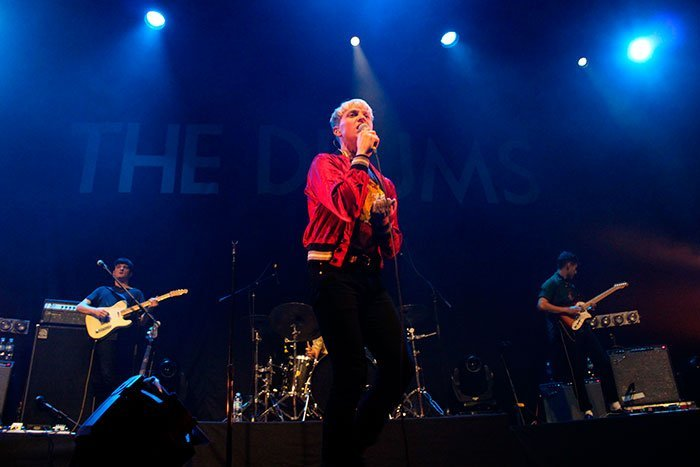 The Drums en El Plaza Condesa