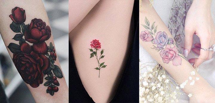 Tatuajes De Flores Ejemplos Y Significados Freim