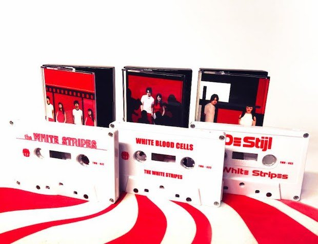 the white stripes casette