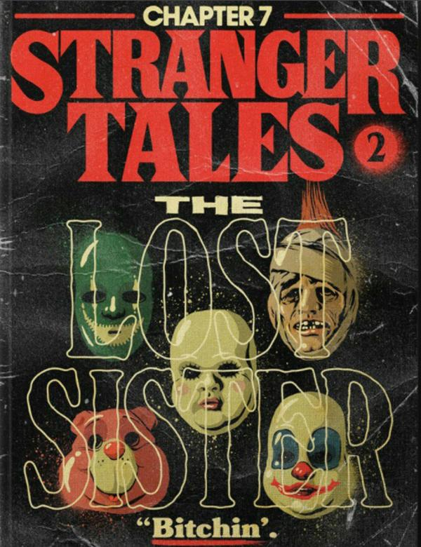 stranger things 2 poster vintage