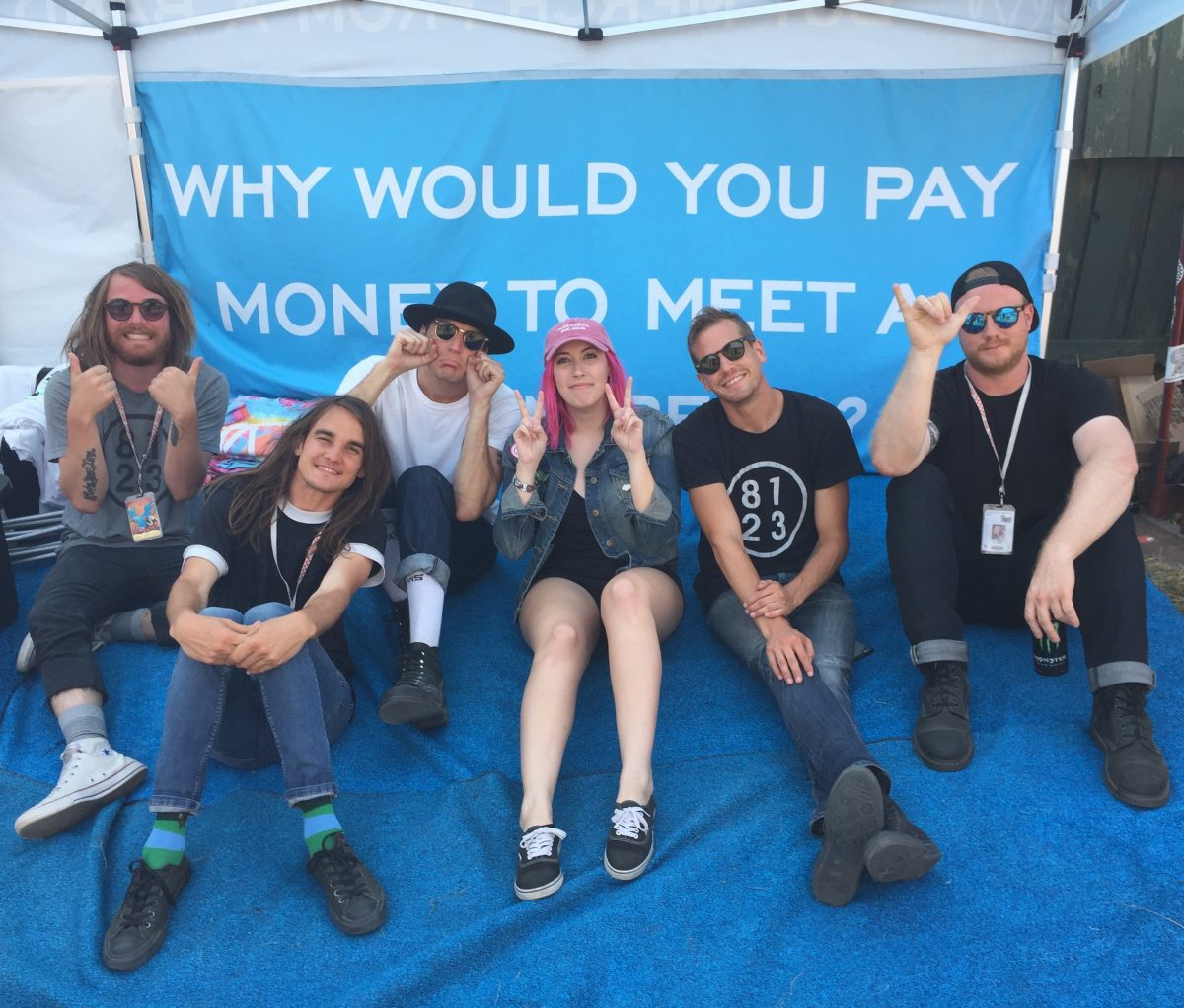the maine warped tour meet & greet