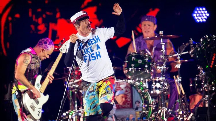 red hot chilli peppers canciones