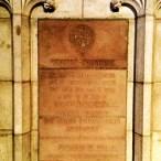 Grace Cathedral gegenüber des Nob Holl Masonic Center in San Francsico: Ehrung für (Bruder) Winston Churchill