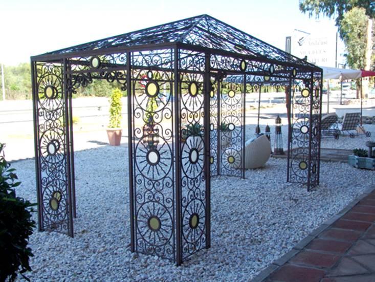 Fabriant Pergola en fer forg tnnelle abris de jardin vranda kiosque pas cher Pergola tonnelle abris de jardin gloriette en