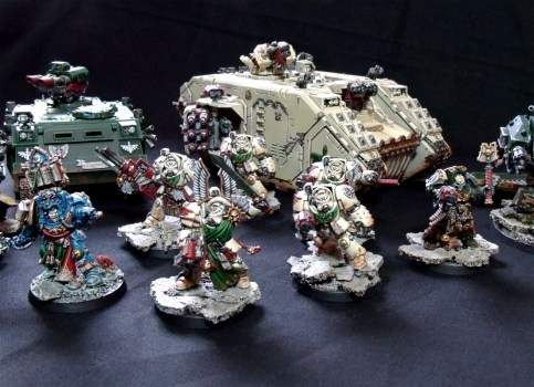 Deathwing, Terminatoren, Land Raider