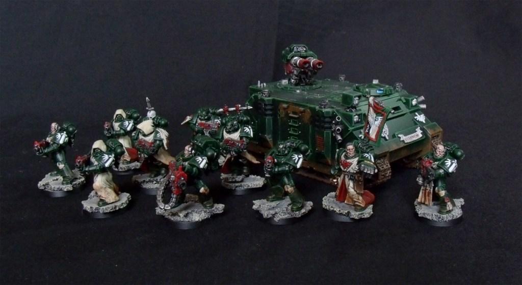 Dark Angels, Taktischer Trupp, Space Marines, Razorback