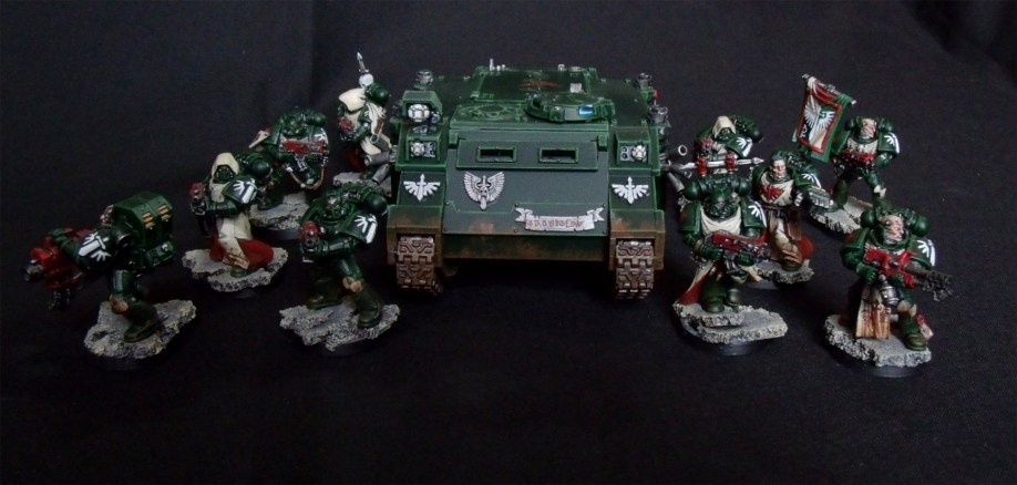 Dark Angels, Taktischer Trupp, Space Marines, Rhino