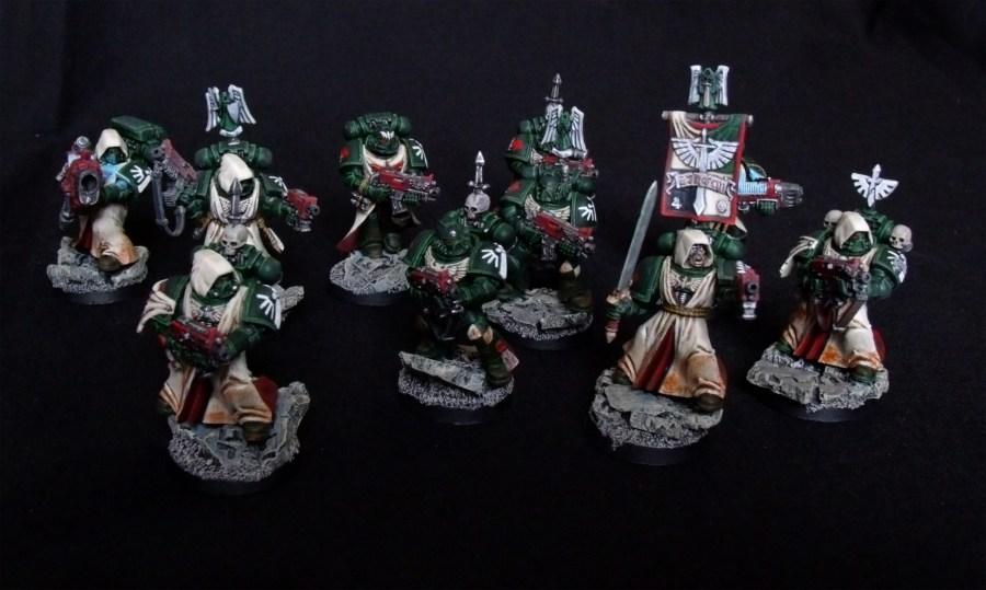 Dark Angels, Taktischer Trupp, Space Marines