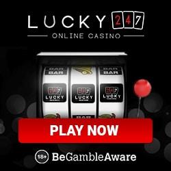 Lucky247 Casino 50 gratis spins & €500 bonus (Microgaming Jackpots)
