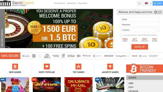 DasIstCasino Review