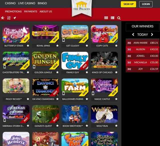ThePalaces Casino Online & Mobile