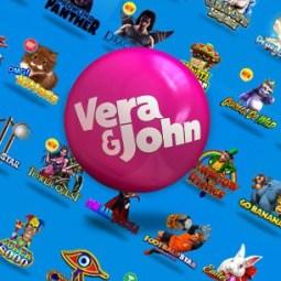 Vera John Casino 200% Willkommensbonus und 100 Freispiele