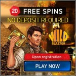 Wild Blaster Casino 20 gratis spins upon registration - Bitcoin & Euro