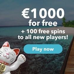 Lucky Days Casino 100 Freispiele + 1.000€ Willkommensbonus