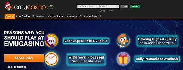 Betat online casino review