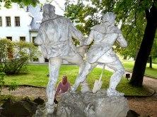 Figuren im Schlossgarten