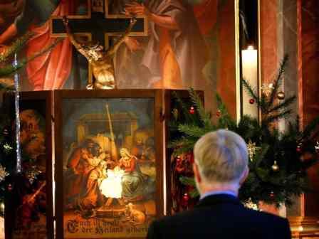 Pfarrer W. Lange Krippenspiel Freital Somsdorf