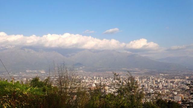 Cerro San Cristóbal - vista