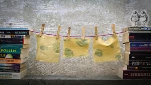 Saueteignudel oder Nudeln mit Sauerteig