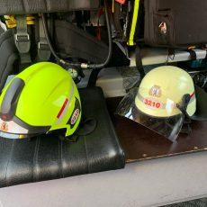 Neue Feuerwehrhelme für die FF Gatow